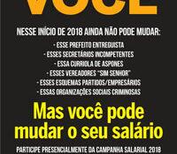 Boletim Servidores na Luta #108 (Janeiro/Fevereiro de 2018)