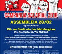 Boletim Servidores na Luta #109 (fevereiro de 2018)