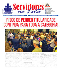 Boletim Servidores na Luta #117 (Outubro de 2019)