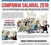 Boletim Servidores na Luta #110 (abril de 2018)