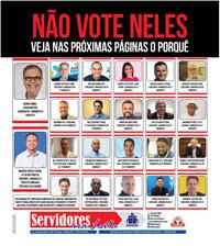 Boletim Servidores na Luta Especial Eleições (Novembro de 2020)