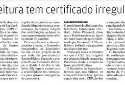 24/11/2016, jornal A Tribuna, página A4