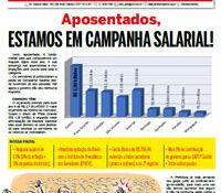 Boletim Servidores na Luta - Especial Aposentados (fevereiro de 2017)