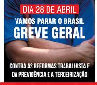 Boletim Servidores na Luta #103 – Especial GREVE GERAL (abril de 2017)