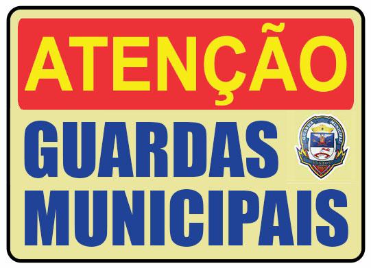 atenção guardas municipais