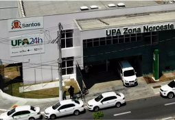UPA da Zona Noroeste, em Santos (Carlos Nogueira/ AT)