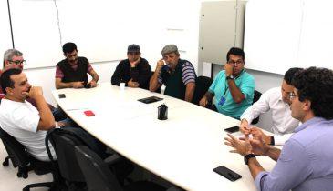 Reunião dos motoristas da SEDS