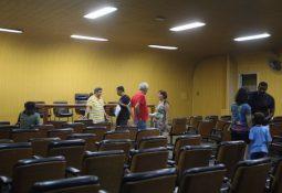 Apenas 11 pessoas assinaram a ata da assembleia realizada no Sintrasaúde (Fernanda Luz/AT)