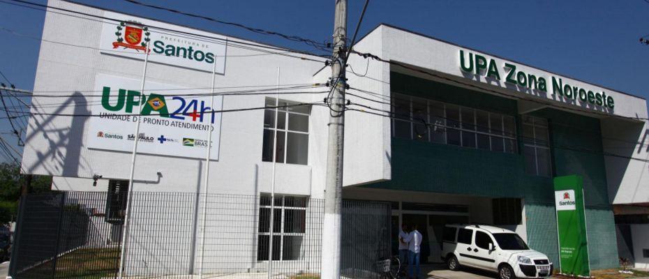São 135 terceirizados pagos pela OS Associação Paulista para o Desenvolvimento da Medicina, na UPA da Zona Noroeste. Foto: ISABELLA CARRARI/PREFEITURA DE SANTOS